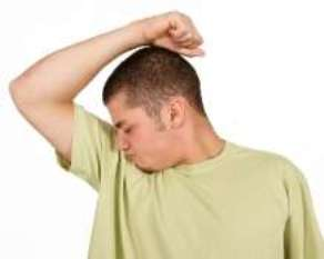 One of the top ten causes of body odor