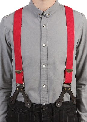 One of the top ten ways to wear suspenders