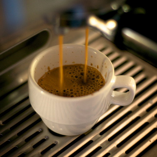 A list of the top ten types of coffee