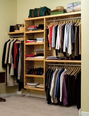 A list of the top ten walk in closet organization ideas