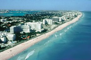 South Florida coast line for best top 10 shopping malls