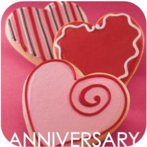 A list of the top ten anniversary celebrations