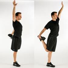 A list of the top ten warm up stretches