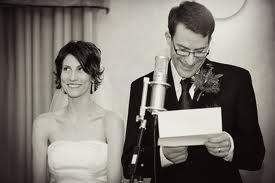 A list of the top ten grooms wedding speeches