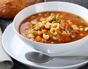 A list of the top ten soup and salad meals
