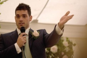 A list of the top ten grooms wedding speeches