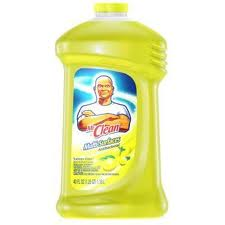 Mr Clean products are efficient cleaning agents