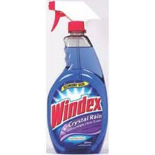 Windex is a brand of cleaning agents