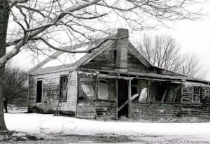 exterior in need of repair