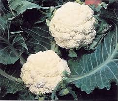 cauliflower and peas