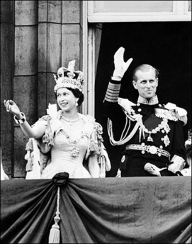Queen Elizabeth II (UK) and Prince Phillip