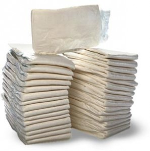 how many diapers