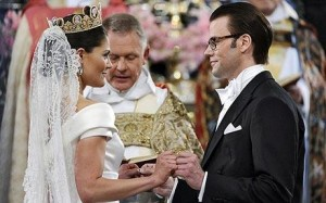 Princess Victoria (Sweden) and Daniel Westling