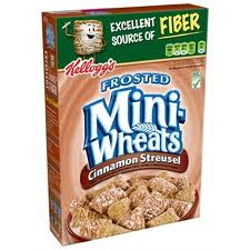 Kelloggs frosted mini wheats