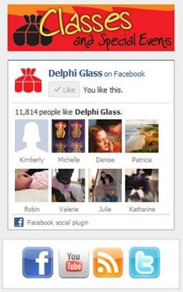 delphi glass blog and facebook