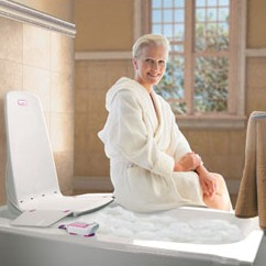 safe bathing for seniors
