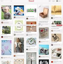 Pinning on Pinterest