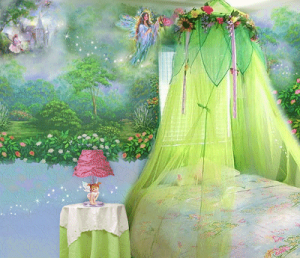 Fairy bedroom decor