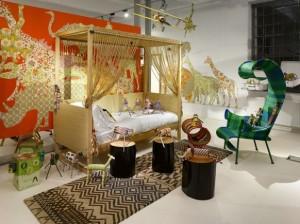 Safari kids bedroom decor