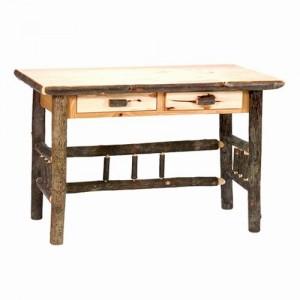 hickory computer desk