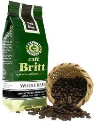Cafe Britt gourmet coffee