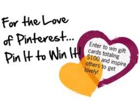 entering pinterest contests
