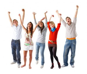 happy people in top 10 digital marketing tips contests