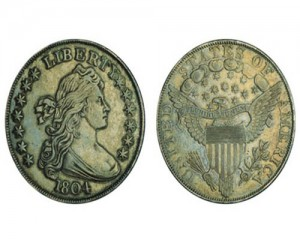 1804 Class I Silver Dollar from Queller's Collection