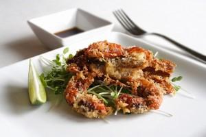 Spicy Stuffed Softshell Crab