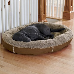 fleece dog beds
