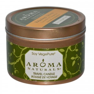 Natural travel candle