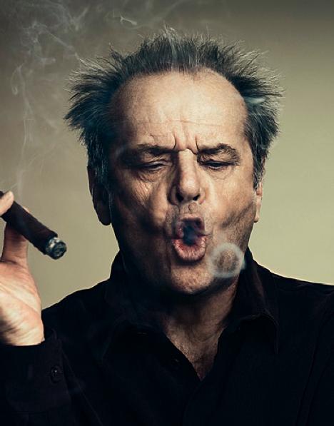 Jack-Nicholson cigar-smoking hunk