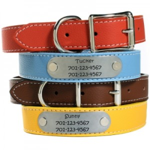 best of personalized Christmas dog collars