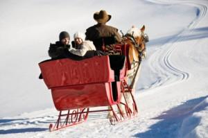 top 10 christmas gifts for hopeless romantics Sleigh ride.