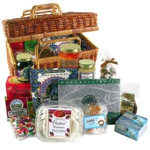 salmon gift basket