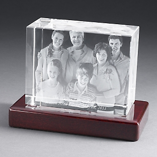 things remembered photo engraved crystal