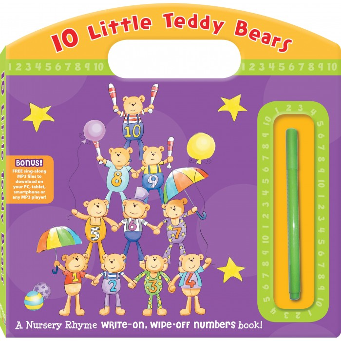 10 Little Teddy Bears: Numbers