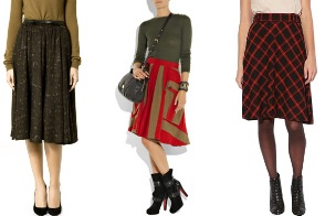 shoes and skirts