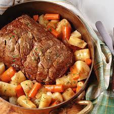 Pot roast ham