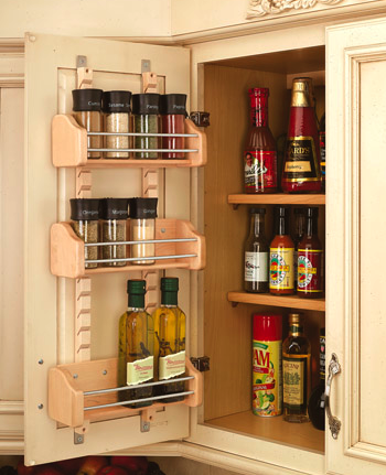 kitchen door racks