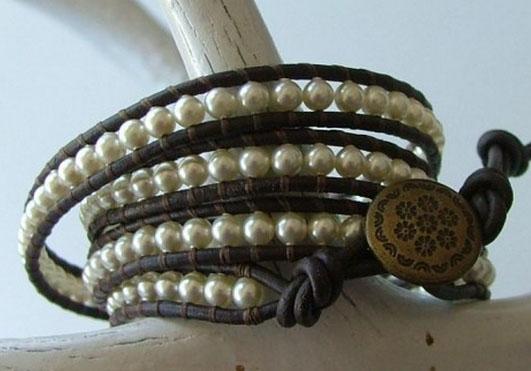 necklace as a bracelet