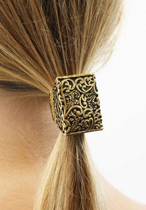 Ring around the ponytail