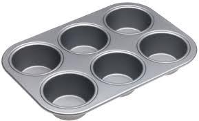 Nonstick muffin tin