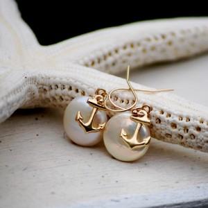 nautical jewelry pearls