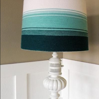 Wrapped Lamp Shades