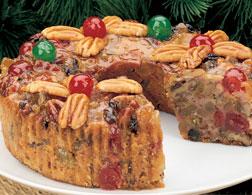 fruitcake from Pittman and Davis