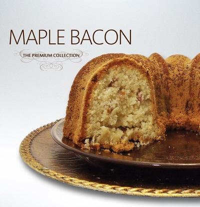 Maple Bacon Pound Cake