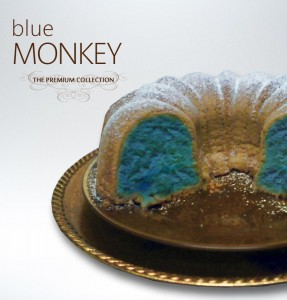 Blue Monkey Pound Cake