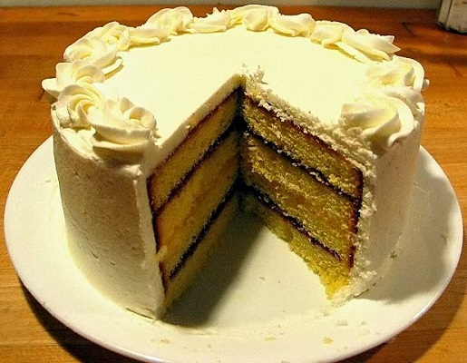 Raspbery Lemon Curd Cake