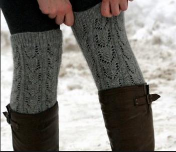 Textured legwarmers